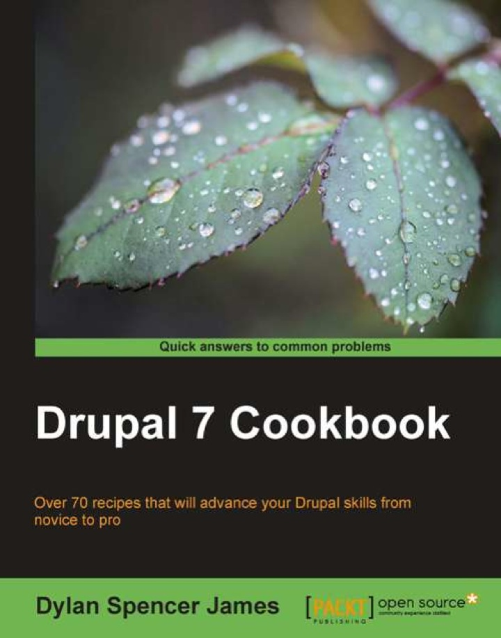 Drupal 7 Cookbook