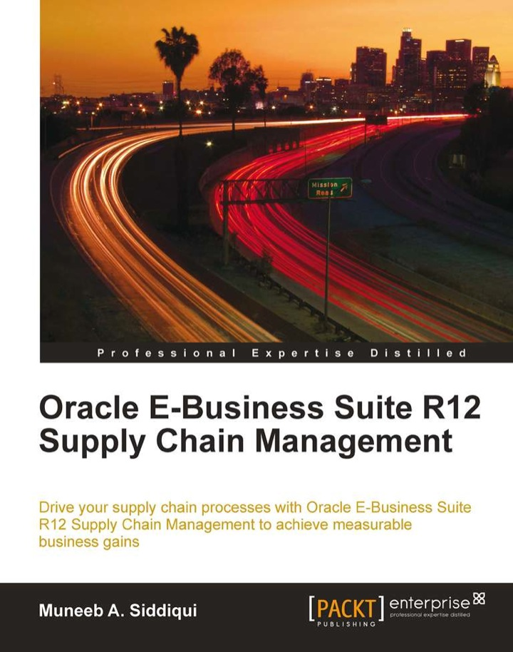 Oracle E-Business Suite R12 Supply Chain
