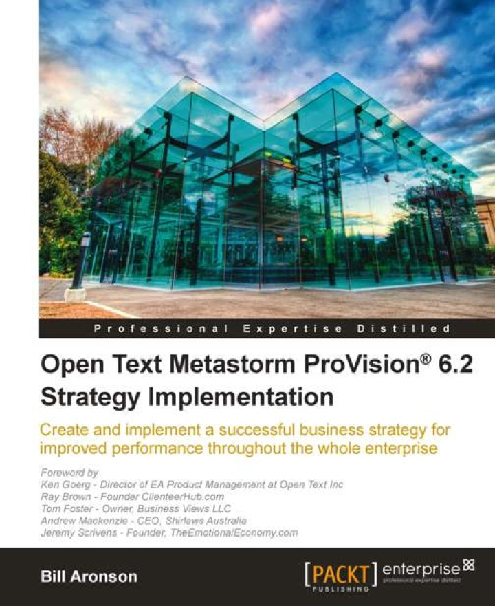 Open Text Metastorm ProVision® 6.2 Strategy Implementation