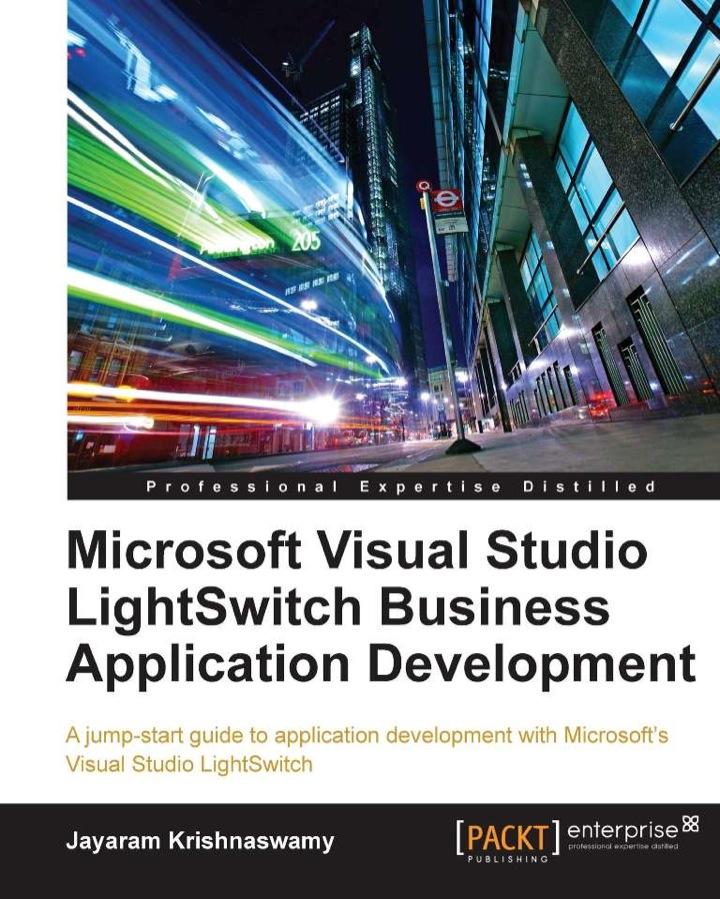 Microsoft Visual Studio LightSwitch Business Application Development