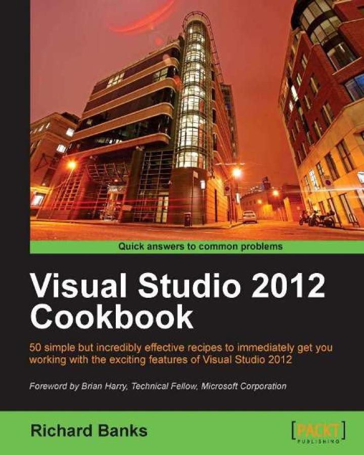 Visual Studio 2012 Cookbook