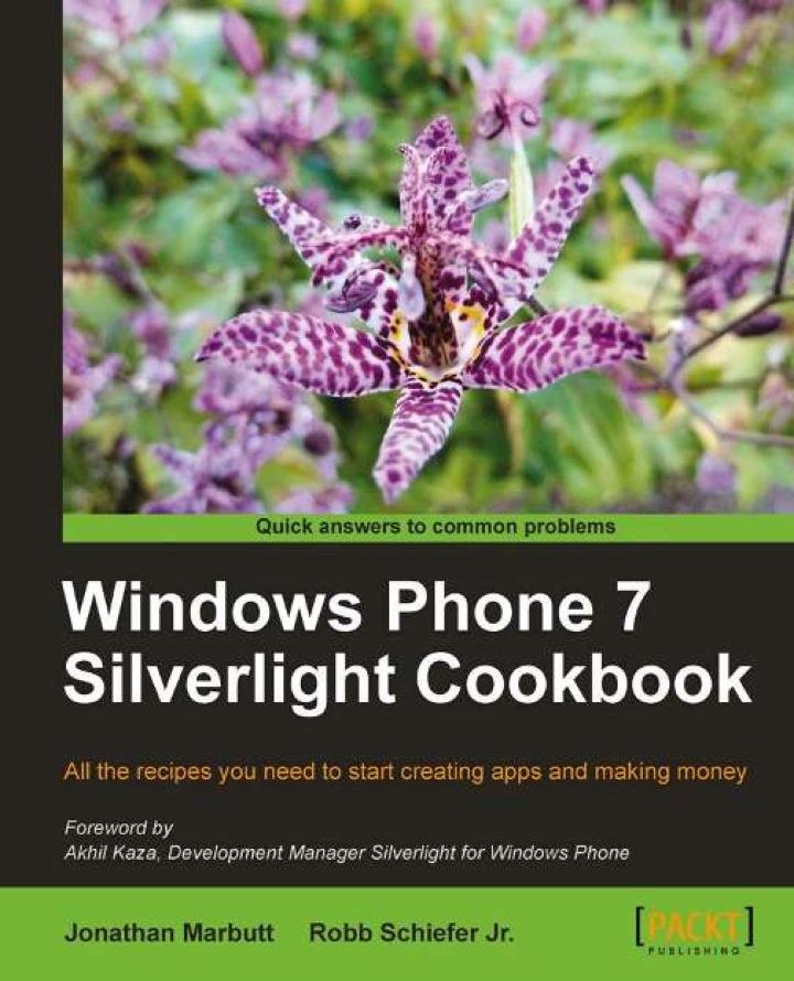 Windows Phone 7 Silverlight Cookbook