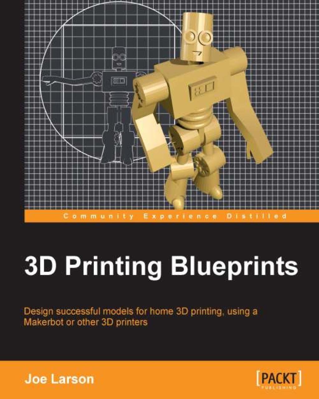 3D Printing Blueprints (eBook) (9781849697095) photo