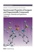 Spectroscopic Properties of Inorganic and Organometallic Compounds 9781849732833