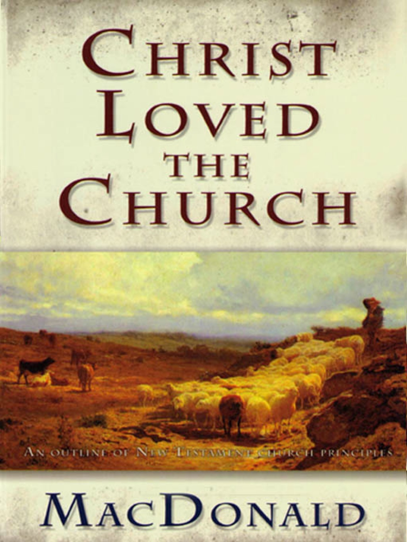 Christ Loved the Church (eBook)