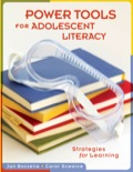 Power Tools for Adolescent Literacy 9781934009758