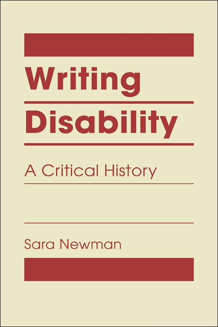 Writing Disability: A Critical History