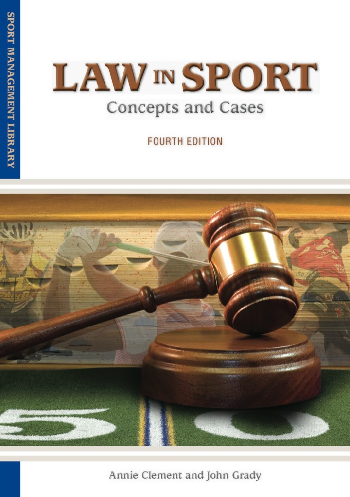 Law in Sport: Concepts and Cases
