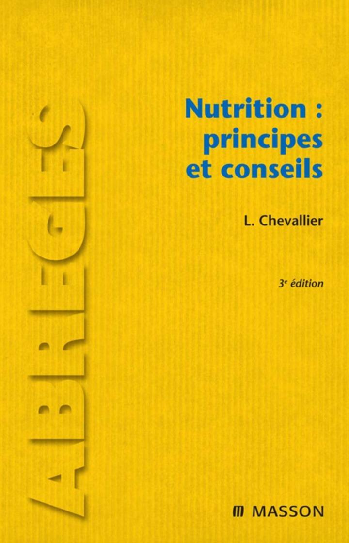 Nutrition : principes et conseils