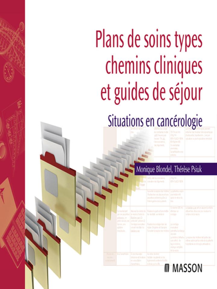 Plans de soins types, chemins cliniques et guides de séjour
