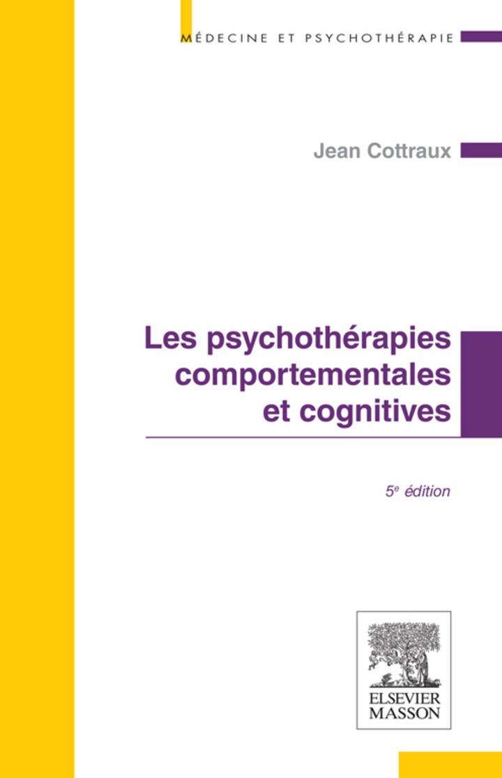 Les psychothérapies comportementales et cognitives