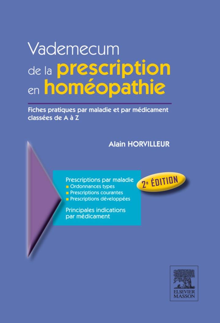 Vademecum de la prescription en homéopathie