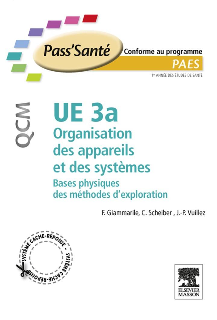 UE 3a - Organisation des appareils et des systèmes - QCM
