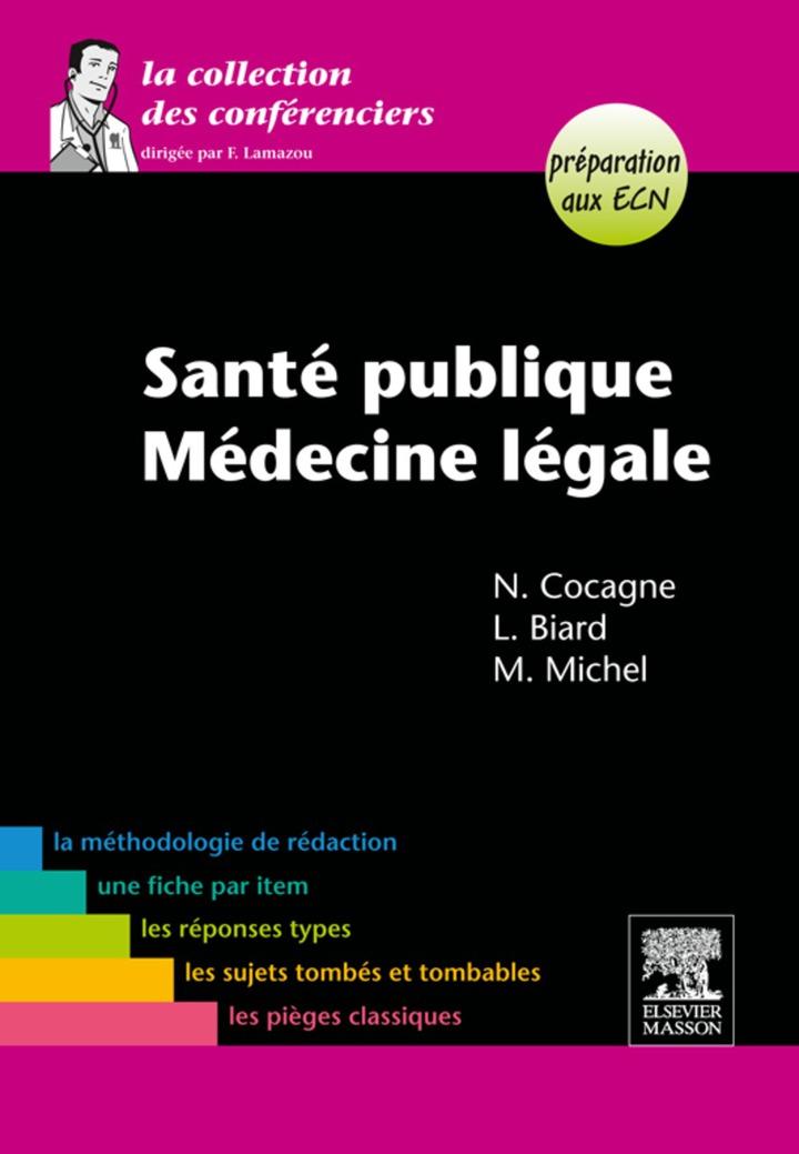 Santé publique-Médecine légale