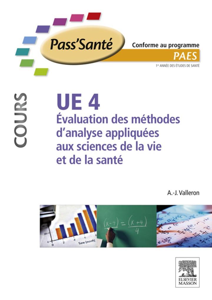 UE 4 - Évaluation des méthodes d'analyse appliquées aux sciences de la vie et de la santé