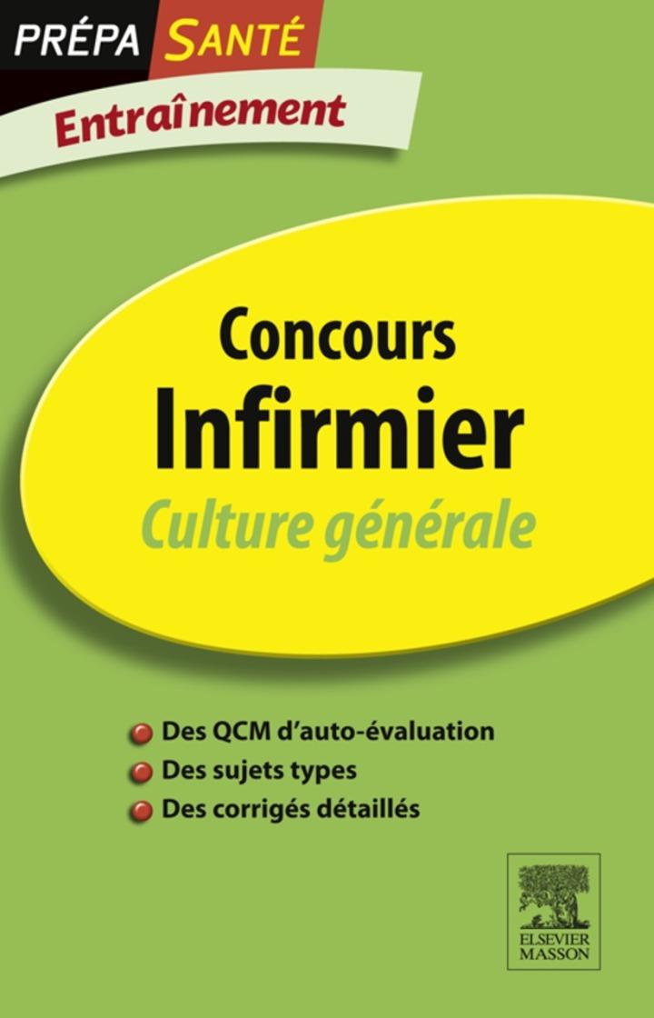 Concours Infirmier Culture générale Entraînement