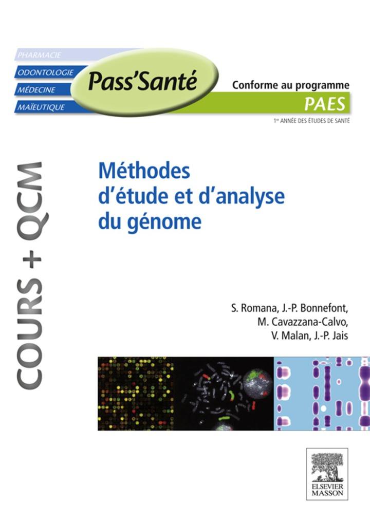 Méthodes d'étude et d'analyse du génome (Cours   QCM)