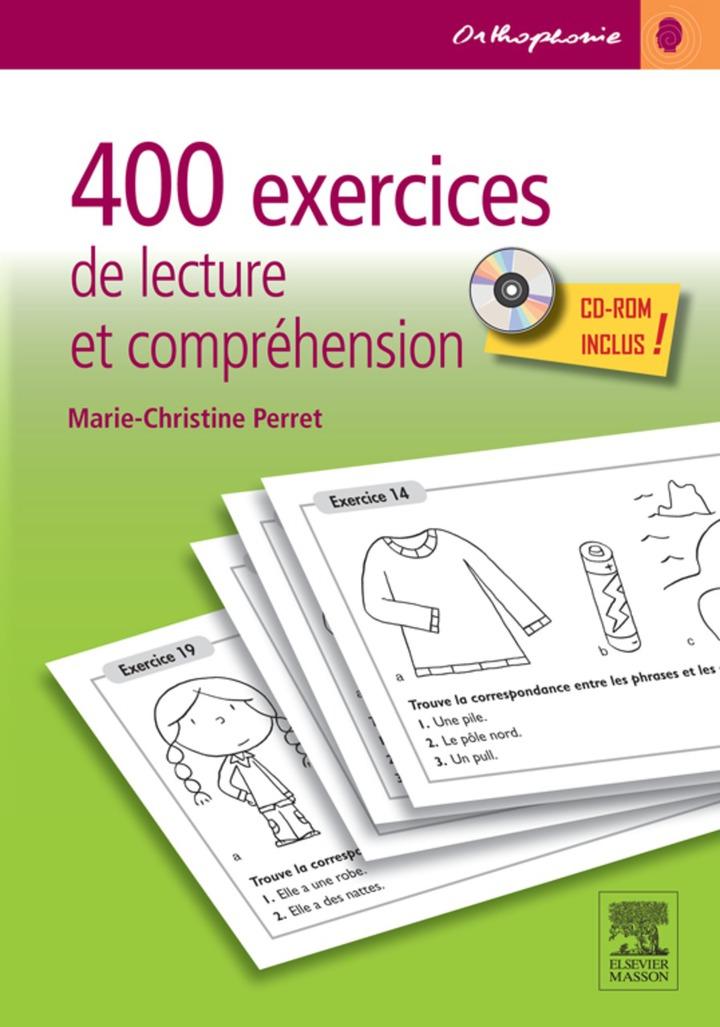 400 exercices de lecture et compréhension
