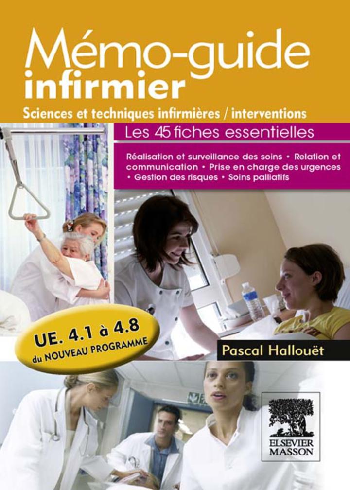 Mémo-guide infirmier - UE 4.1 à 4.8
