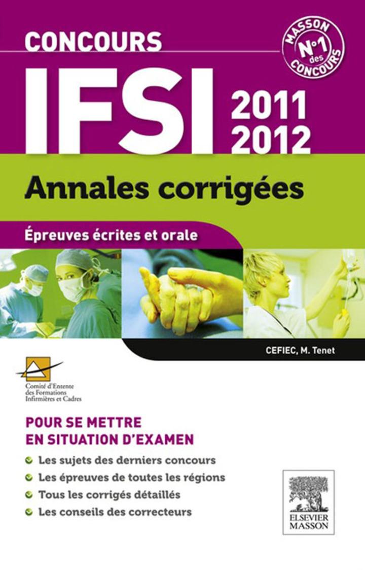 Annales corrigées Concours IFSI 2011-2012