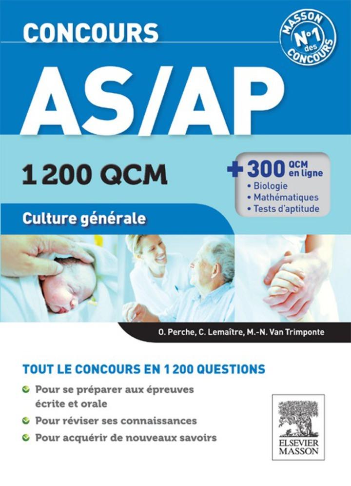 Concours AS/AP 1 200 QCM Culture générale