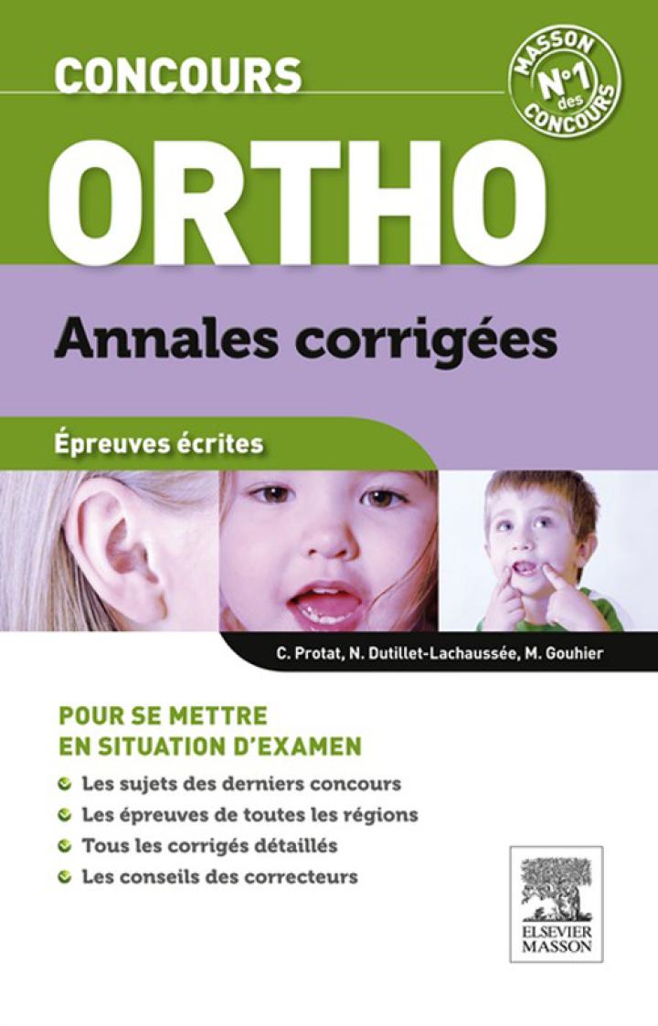 Annales corrigées Concours Orthophoniste