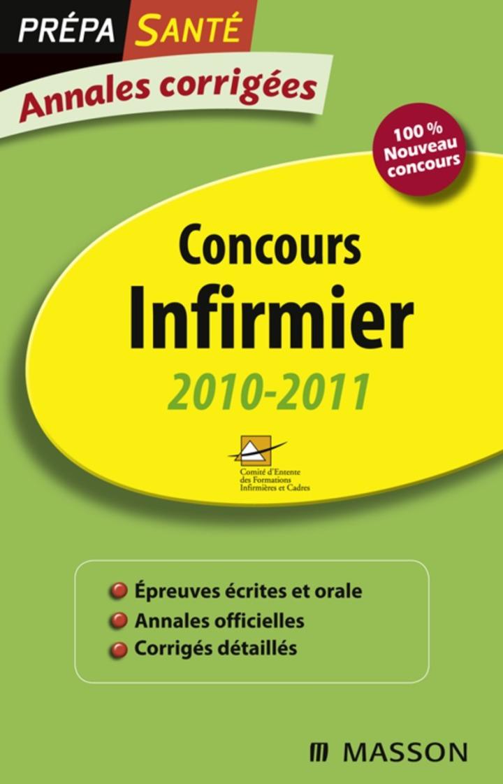 Annales corrigées Concours Infirmier 2010-2011