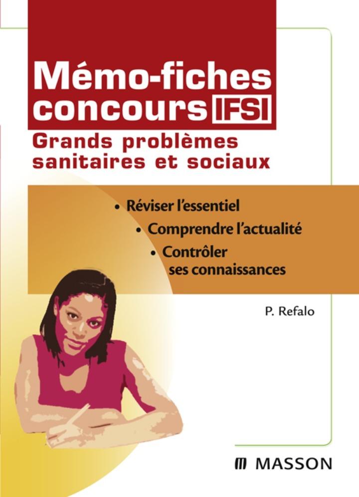 Mémo-fiches concours IFSI Grands problèmes sanitaires et sociaux