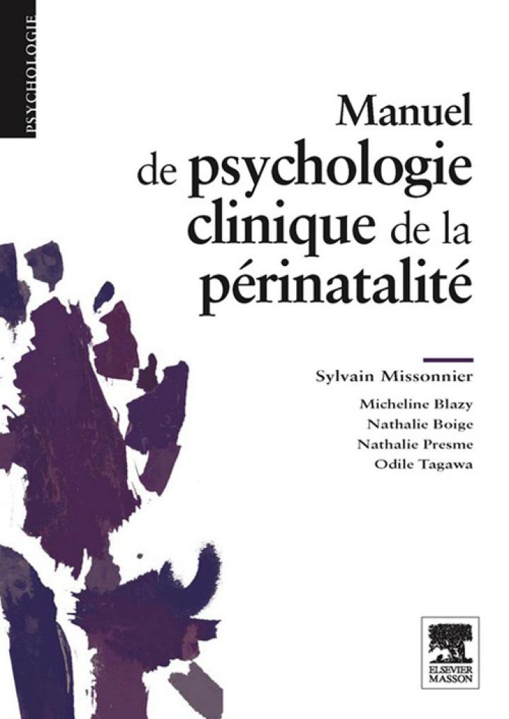 Manuel de psychologie clinique de la périnatalité