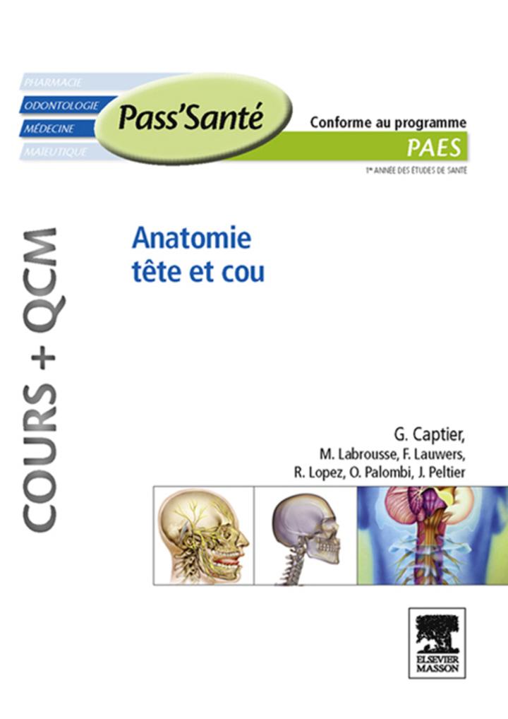 Anatomie tête et cou (Cours   QCM)