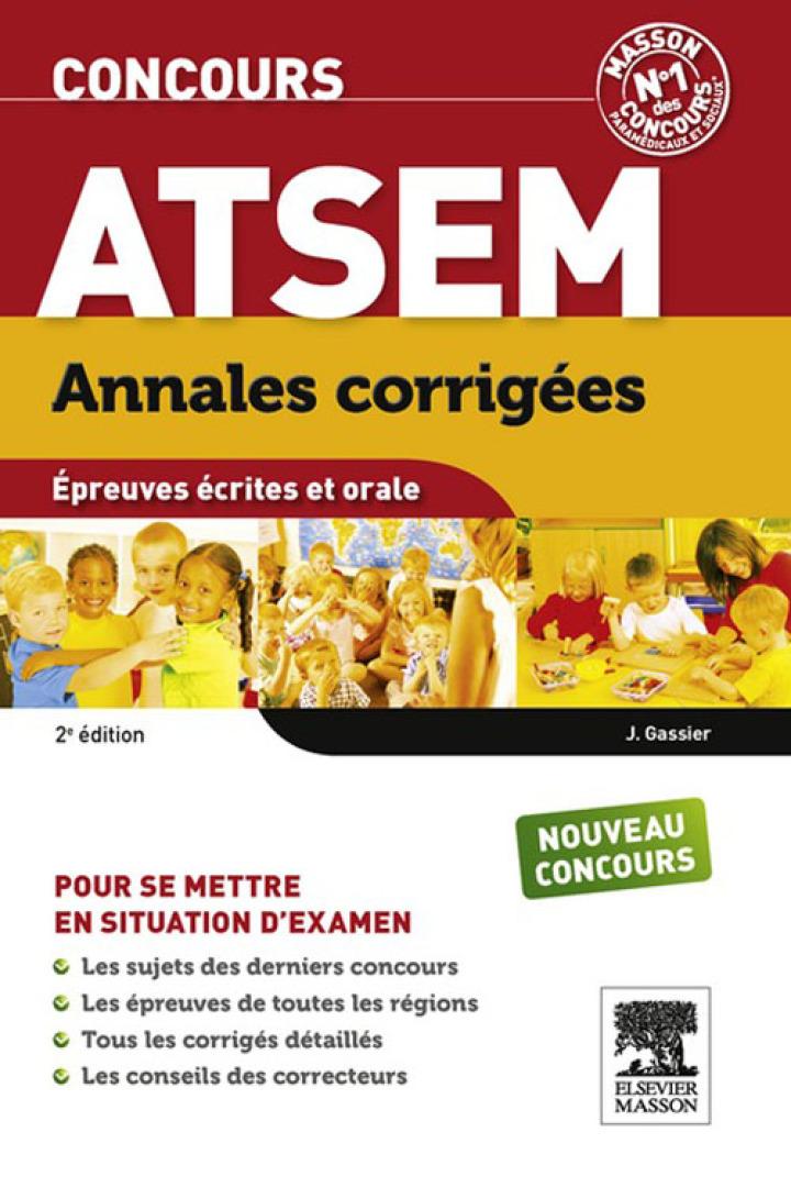 Annales corrigées Concours ATSEM