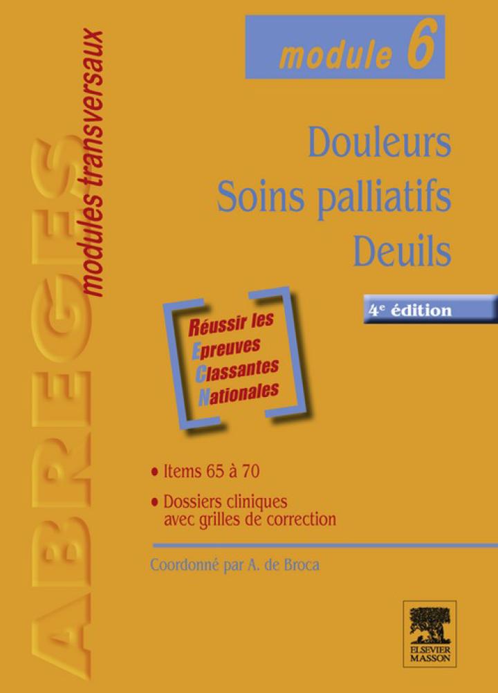 Douleurs - Soins palliatifs - Deuils