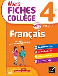 Mes fiches collège Français 4e              by             Hélène Ricard; Matthieu Verrier