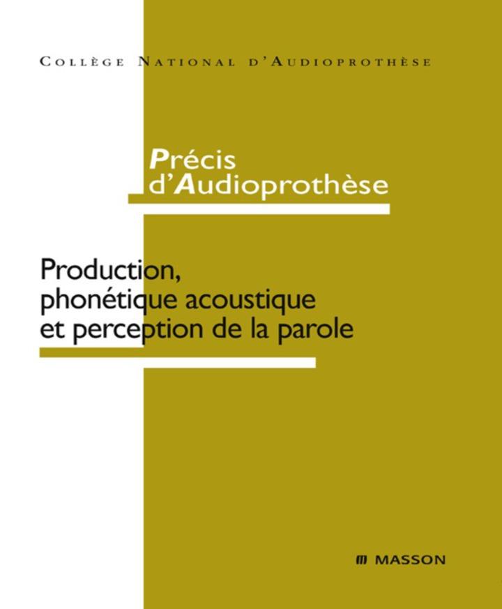 Précis d'audioprothèse
