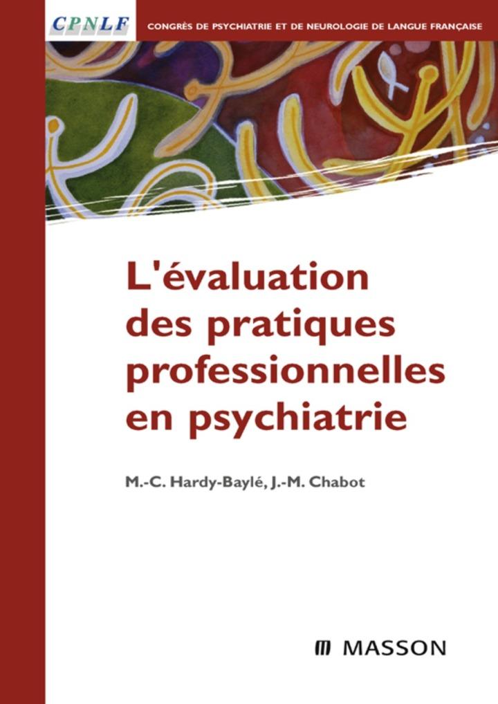 L'évaluation des pratiques professionnelles en psychiatrie
