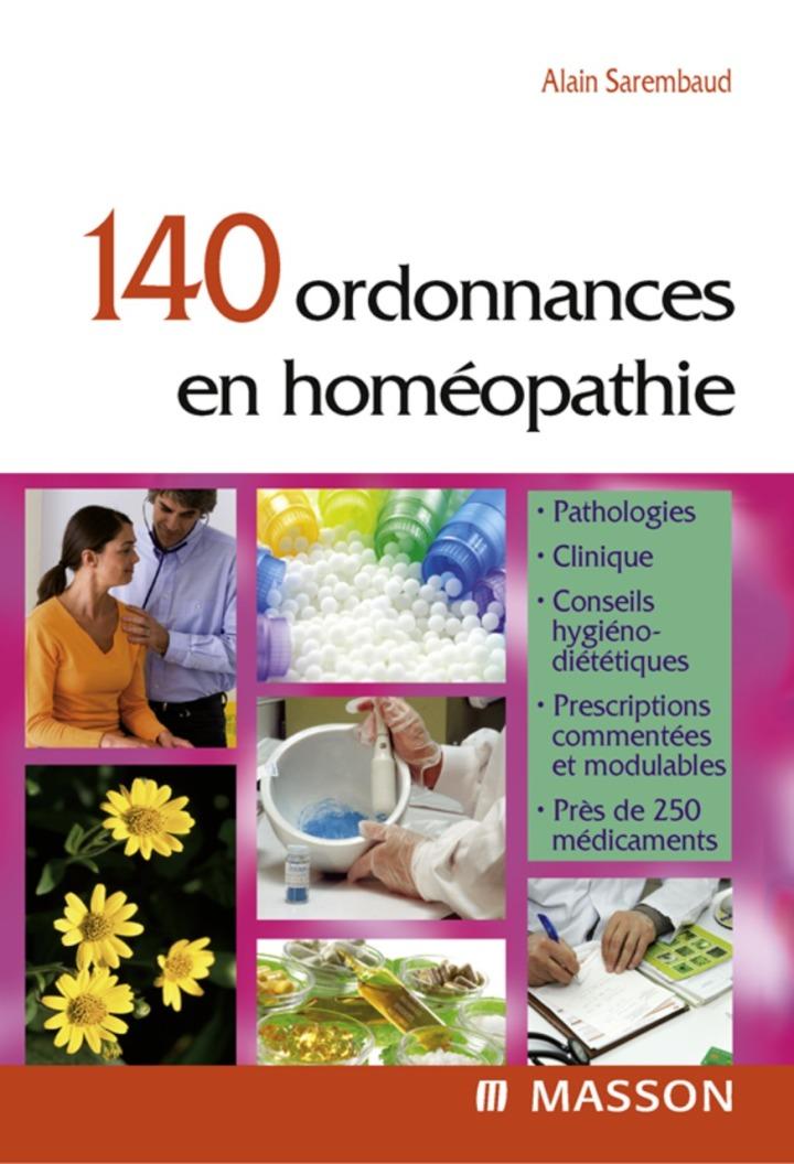 140 ordonnances en homéopathie