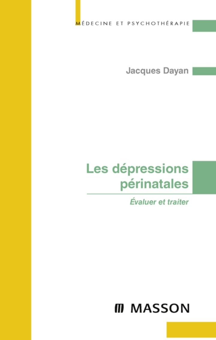 Les dépressions périnatales
