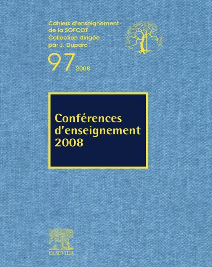 Conférences d'enseignement 2008 (n°97)