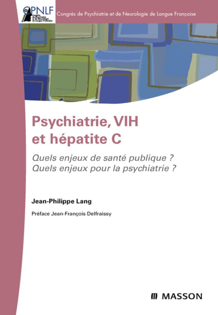 Psychiatrie, VIH et hépatite C