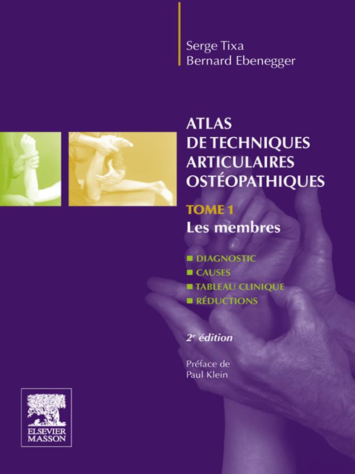 Atlas de techniques articulaires ostéopathiques