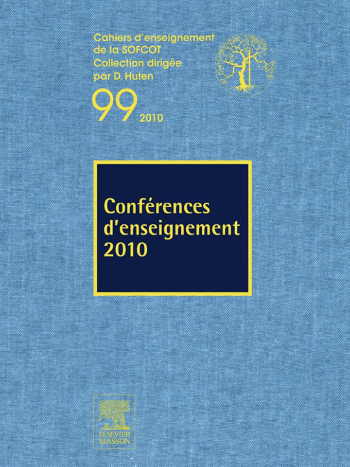 Conférences d'enseignement 2010 (n°99)