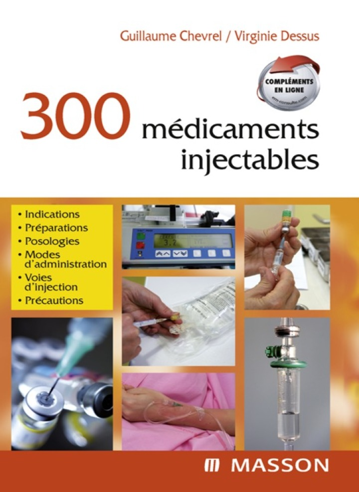 300 médicaments injectables