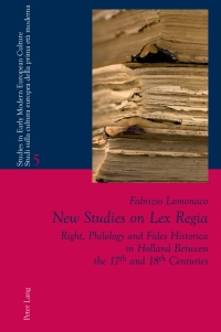 New Studies on Lex Regia              by             Fabrizio Lomonaco