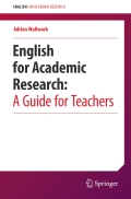 English for Academic Research:  A Guide for Teachers 9783319326870