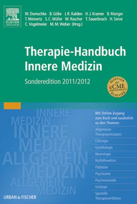 Therapie-Handbuch Innere Medizin Sonderedition 2011/2012
