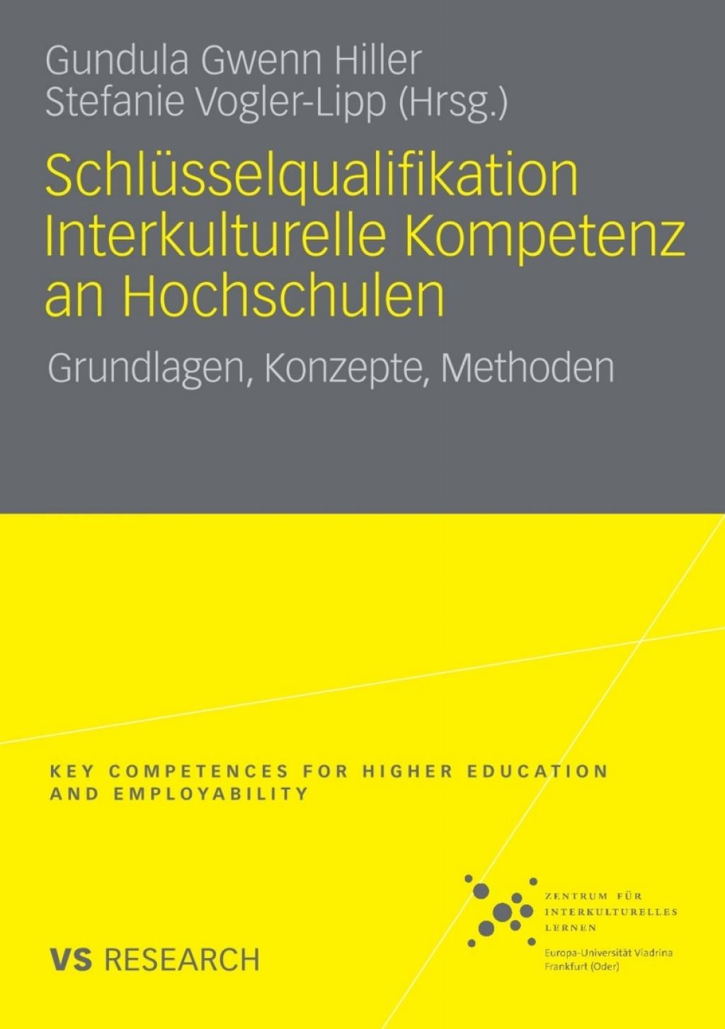 Schlüsselqualifikation Interkulturelle Kompetenz an Hochschulen (eBook) - Gundula-Gwenn Hiller