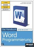 Microsoft Word-Programmierung - Das Handbuch - Cindy Meister
