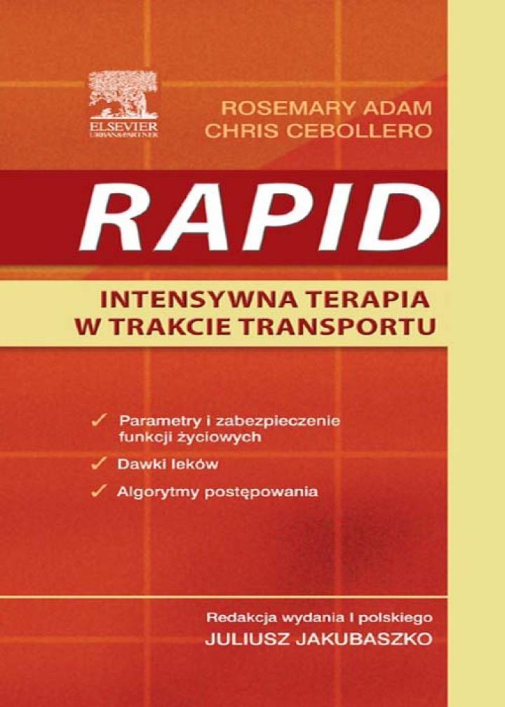 RAPID Intensywna terapia podczas transportu