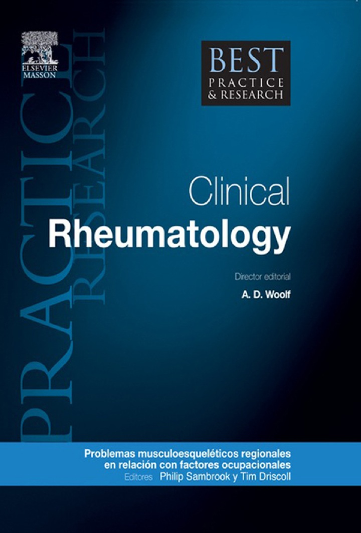Best Practice & Research. Reumatología clínica, vol. 25, n.º 1