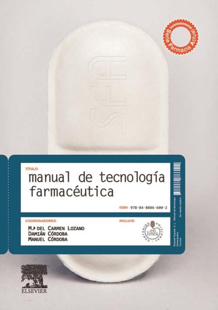 Manual de tecnología farmacéutica